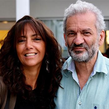 Sandra Martins e Luís Resina